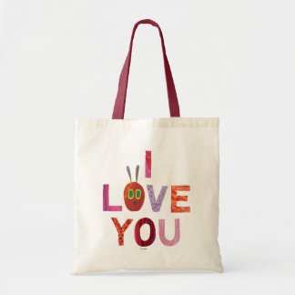 The Very Hungry Caterpillar | I Love You Tote Bag