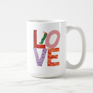 The Very Hungry Caterpillar   LOVE Coffee Mug