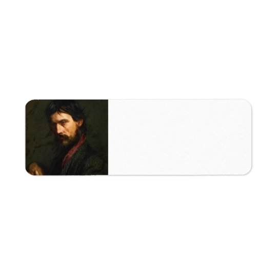 The Veteran by Thomas Eakins Return Address Label