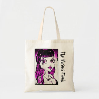 The Vicious Fiend - Psycho Love Tote Bag