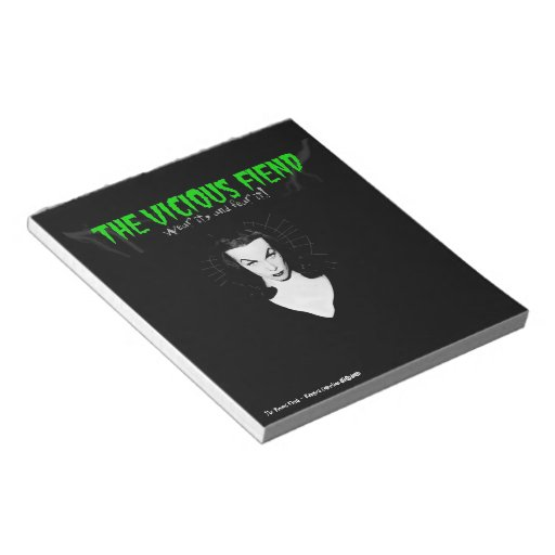 The Vicious Fiend - Vampira Collection Notepad