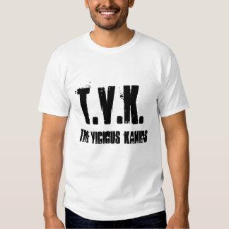 the vicious kanids, T.V.K. T Shirts
