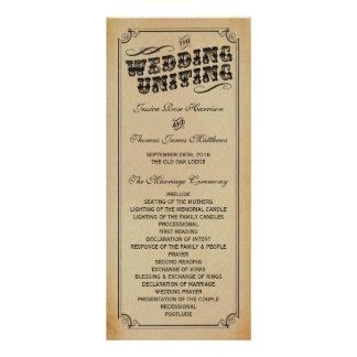 The Victorian Steampunk Wedding Collection Rack Card Design