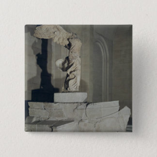 The Victory of Samothrace 2 Inch Square Button