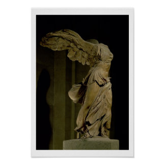 The Victory of Samothrace (Parian marble) (see als Poster