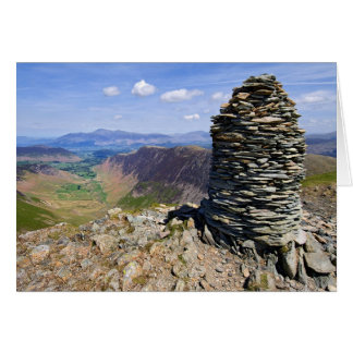The view from Dale Head - The Lake District Card