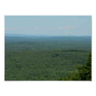 The View from Mount Agamenticus, Maine Poster