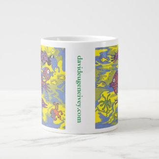 """The Viewpoint Of A Seaweed"" davideugeneivey.com Large Coffee Mug"