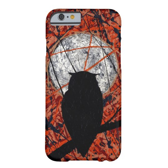 THE VIGIL! (abstract owl design) ~ Barely There iPhone 6 Case