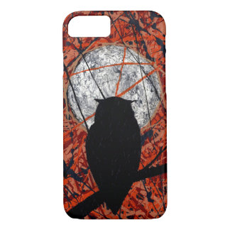 THE VIGIL! (abstract owl design) ~ iPhone 7 Case