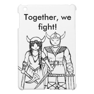 The Vikings - Never Give Up Case For The iPad Mini