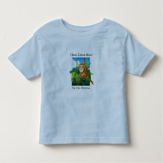 "The Villa Hermosa ""I love Costa Rica"" Toddler Tee"