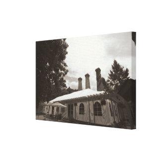 The Villa - Warehouse Turned Elegant Banquet Hall Canvas Print