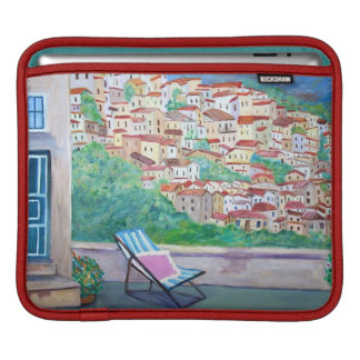 The Village of Apricale -  iPad pad Horizontal Sleeves For iPads