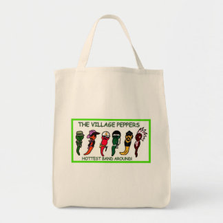THE VILLAGE PEPPERS GROCERY BAG! TOTE BAG