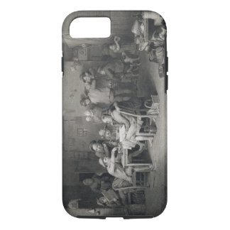 The Village Politicians, engraved by Abraham Raimb iPhone 7 Case