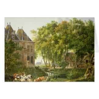 The Village Pond Card
