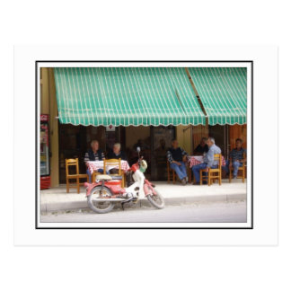 The village taverna postcard