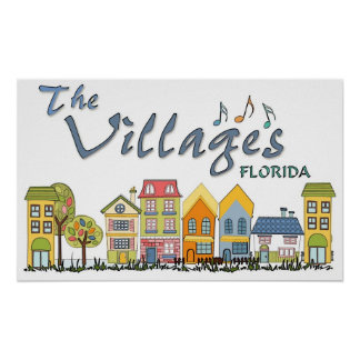 The villages florida community poster