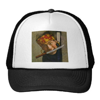 The Villian Vintage Stereoview Trucker Hat