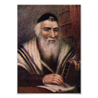 The Vilna Gaon - Rabbi Elijah of Vilna Photo Print
