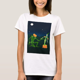 The Vine Witch and the Pumpkin Man T-Shirt