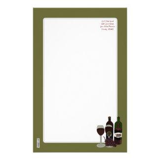 The Vino Vixen - (The Beauty in the Bottle) Custom Stationery