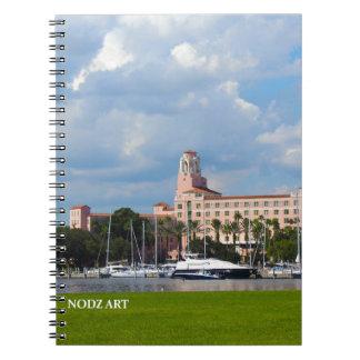 The Vinoy Spiral Notebook