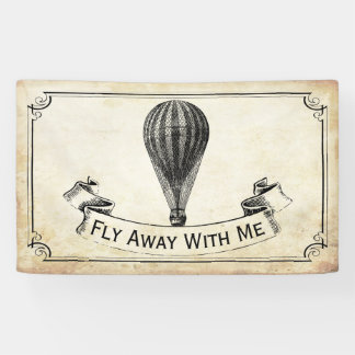 The Vintage Hot Air Balloon Wedding Collection Banner