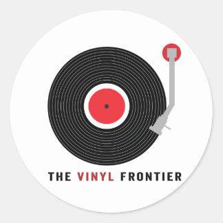 The Vinyl Frontier Stickers