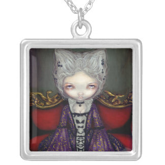The Violet Duchess NECKLACE gothic rococo