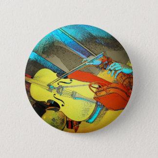 The Violin 2 Inch Round Button