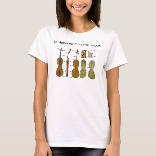 The Violin Is My True Love Shirt