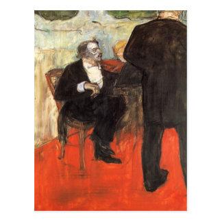 The Violinist Dancla by Toulouse-Lautrec Postcard