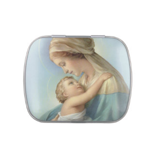 The Virgin and Child Candy Tin_Favor Box