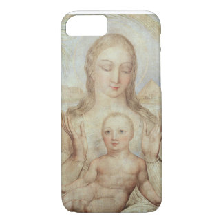 The Virgin and Child in Egypt, 1810 (tempera on pa iPhone 7 Case