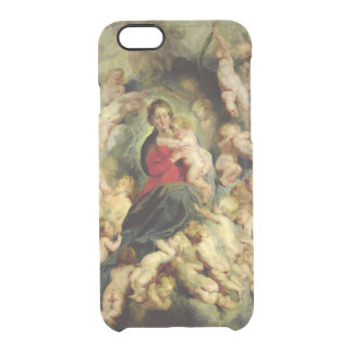 The Virgin and Child surrounded Clear iPhone 6/6S Case