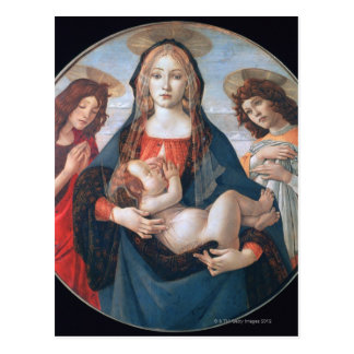 'The Virgin and Child with Saint John and an Postcard