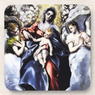 The Virgin and Child with St. Martina Coasters