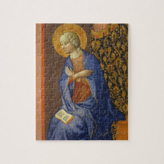 The Virgin Annunciate, c. 1430 (tempera on panel) Puzzle