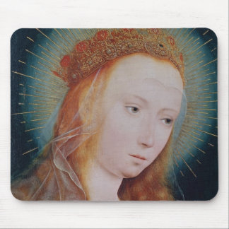 The Virgin at Prayer Mouse Pad