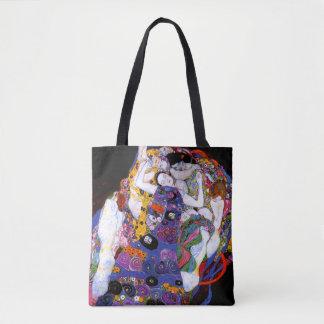 The Virgin by Gustav Klimt Fine Art Tote Bag