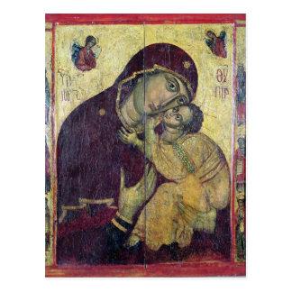 The Virgin Eleousa, from Nessebar Postcard