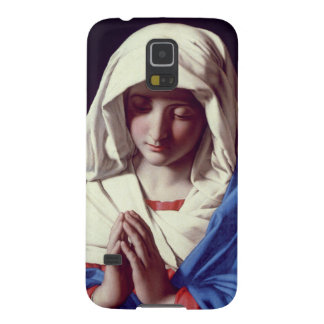 The Virgin in Prayer, 1640-50 (oil on canvas) Cases For Galaxy S5