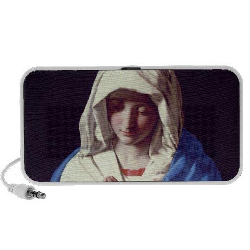 The Virgin in Prayer, 1640-50 (oil on canvas) Mp3 Speakers
