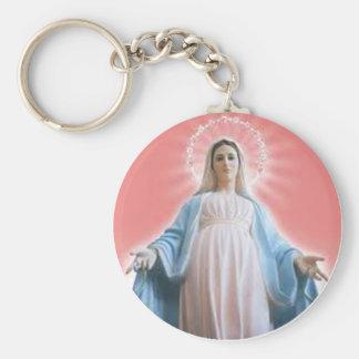 The Virgin Mary keychain