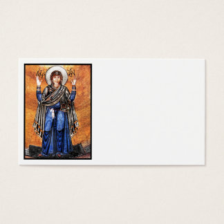 The Virgin Mary Oran Business Card