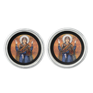 The Virgin Mary Oran Cufflinks