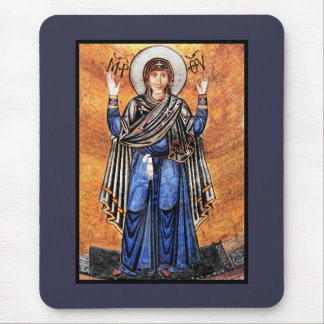 The Virgin Mary Oran Mouse Pad