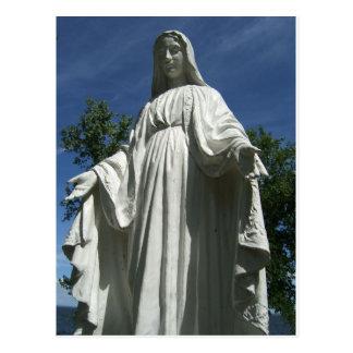 The Virgin Mary Postcard